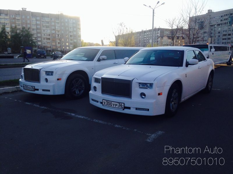 Rolls-Royce Phantom – 1300 руб./час