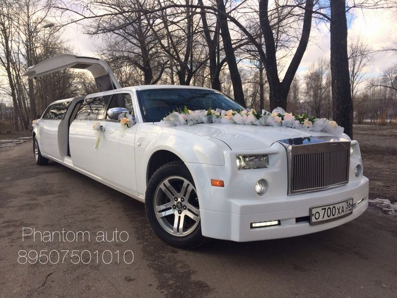 Rolls-Royce Phantom – 3500 руб./час