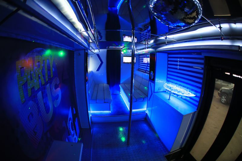 Party Bus Light Star – 5000 ���./���