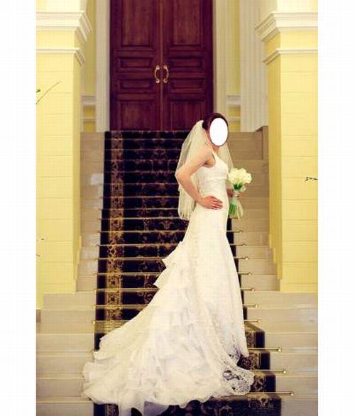 Свадебные платье со шлейфом цена