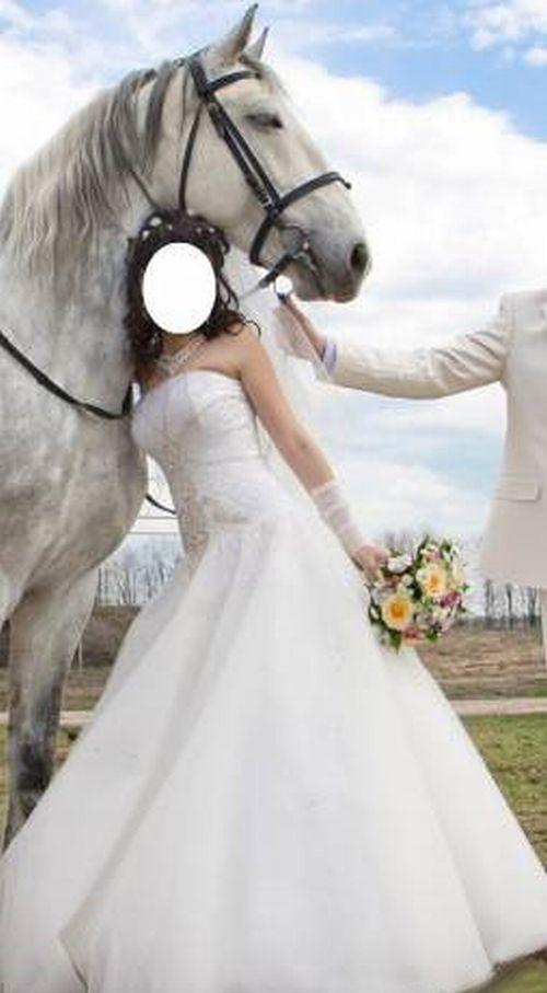 Продам свадебное платье. Цвет-айвори