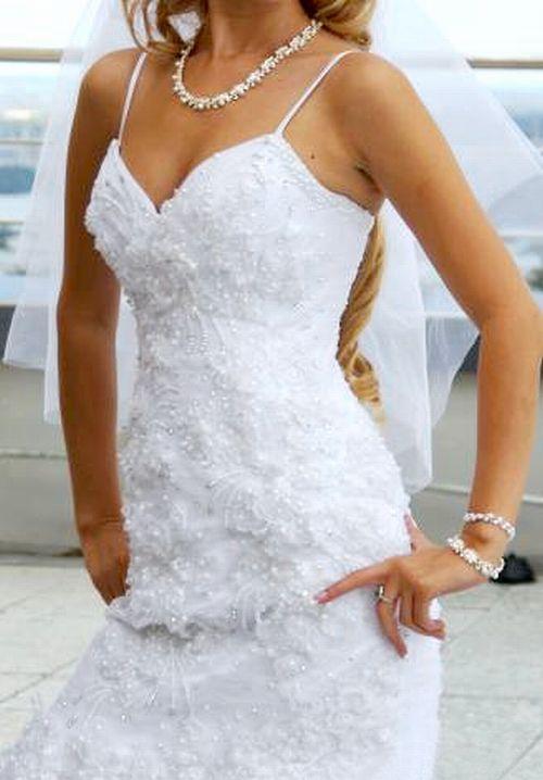 Свадебное платье рыбка. Портал
