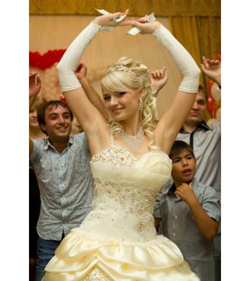 Кремовый Цвет Свадебного Платья Для Смуглых