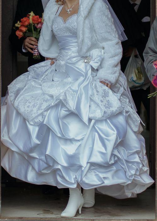 Свадебные платья б у 50 52