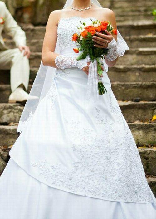 Шестиклинка Серебро Свадебные Платья