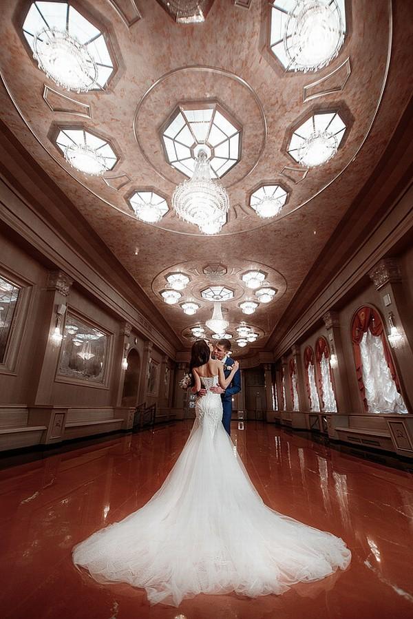 Свадебные фото кольца голубей уже много