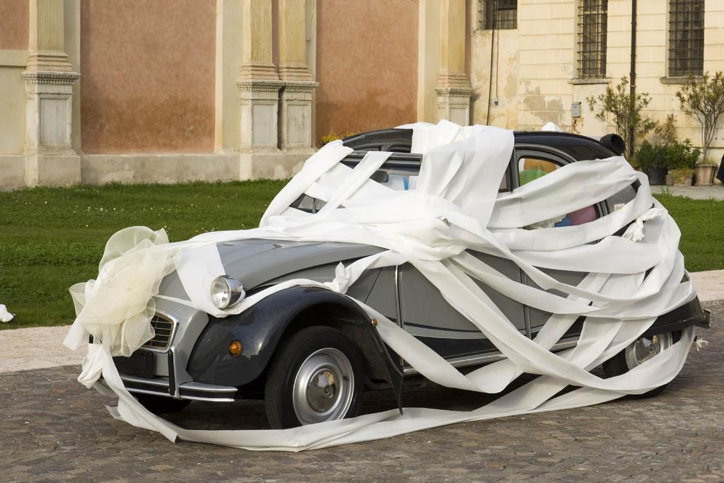 Украшение свадебных машин - Необычные свадебные фото