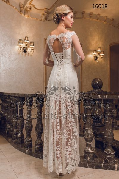 Платья для зимней свадьбы