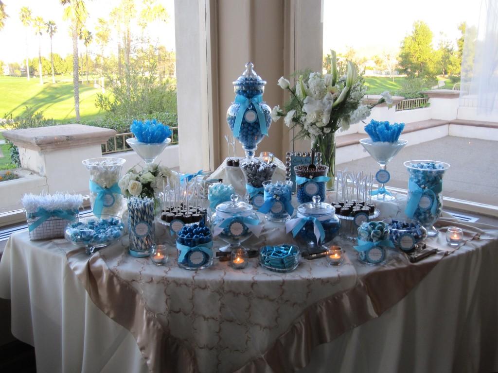 Кенди бар свадьба своими руками голубые тона 68