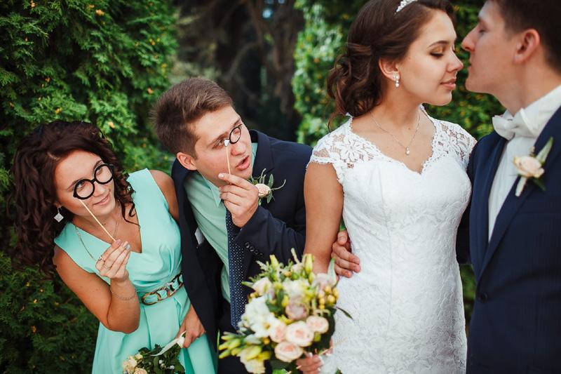 Фото свидетели на свадьбе