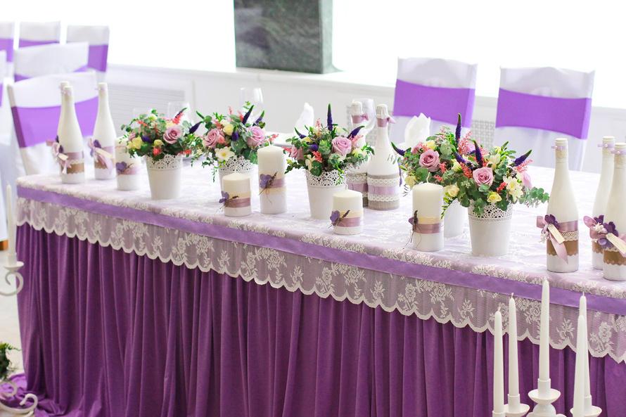 оформление зала на свадьбу в цвете фото